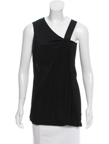 Zero + Maria Cornejo Draped Sleeveless Top None
