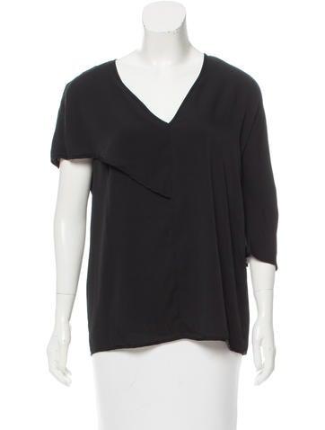 Zero + Maria Cornejo Asymmetrical Silk Top w/ Tags None