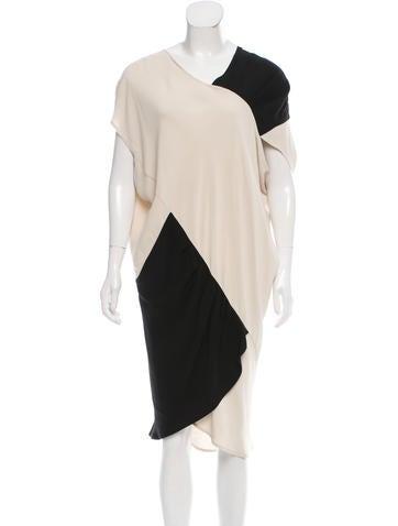 Zero + Maria Cornejo Asymmetrical Colorblock Dress w/ Tags None