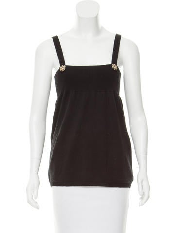Zero + Maria Cornejo Zero + Maria Cornejo Sleeveless Wool-Blend Sweater None