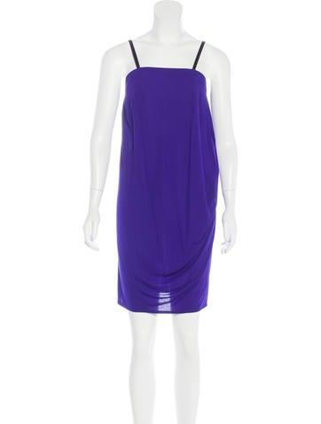 Zero + Maria Cornejo Sleeveless Mini Dress None