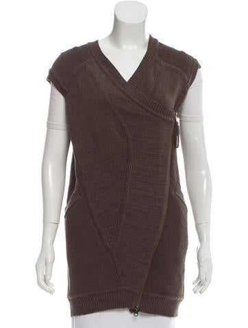 Zero + Maria Cornejo Asymmetrical Knit Vest w/ Tags None