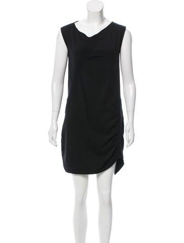 Zero + Maria Cornejo Mini Sweater Dress None