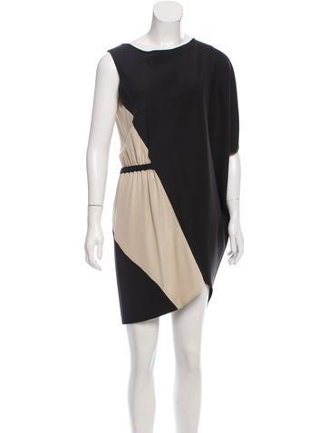 Zero + Maria Cornejo Asymmetrical Silk Dress None