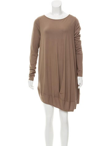 Zero + Maria Cornejo Asymmetrical Mini Dress w/ Tags None