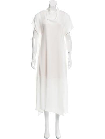 Zero + Maria Cornejo Asymmetrical Maxi Dress w/ Tags None
