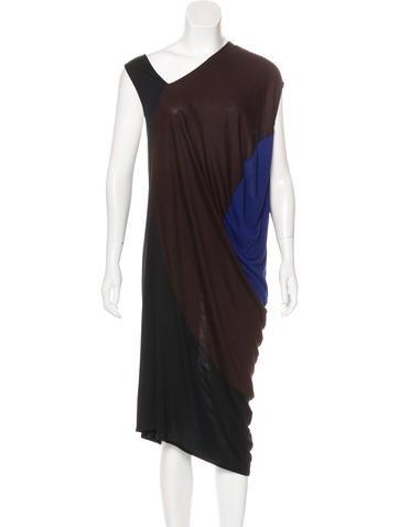 Zero + Maria Cornejo Colorblock Knit Dress None