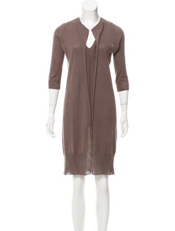 Zero + Maria Cornejo Linen-Blend Sweater Dress None