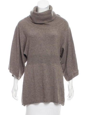 Zero + Maria Cornejo Turtleneck Cashmere Sweater None