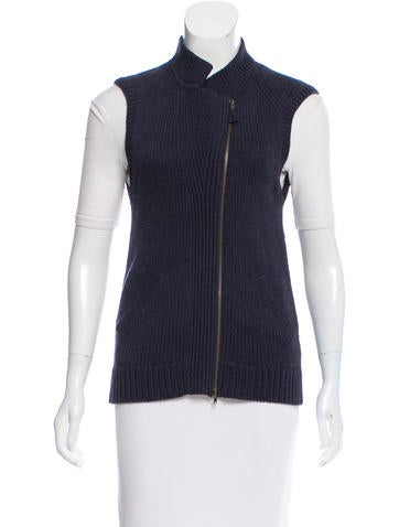 Zero + Maria Cornejo Merino Wool Sweater Vest None