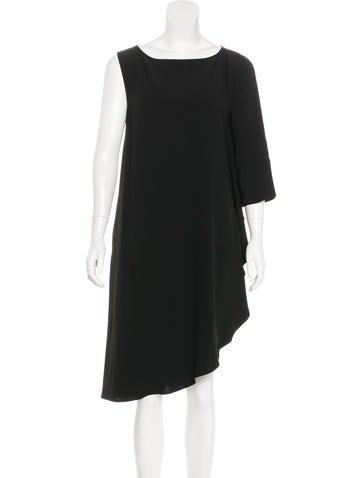 Zero + Maria Cornejo Circle One-Shoulder Dress w/ Tags None