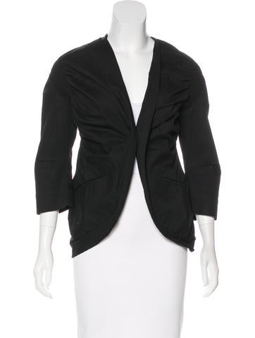 Zero + Maria Cornejo Lightweight Asymmetrical Jacket None