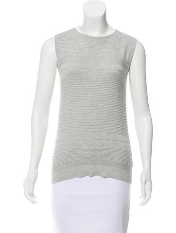 Zero + Maria Cornejo Sleeveless Wool Top None