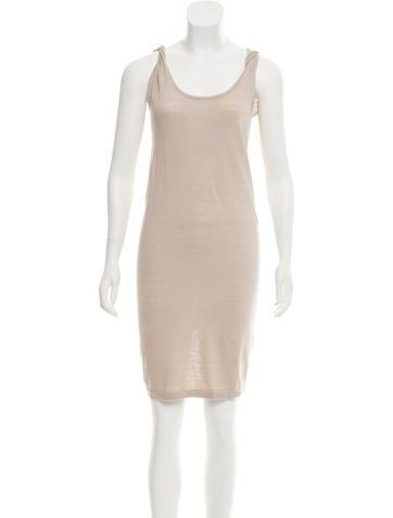 Zero + Maria Cornejo Sleeveless Knit Mini Dress None
