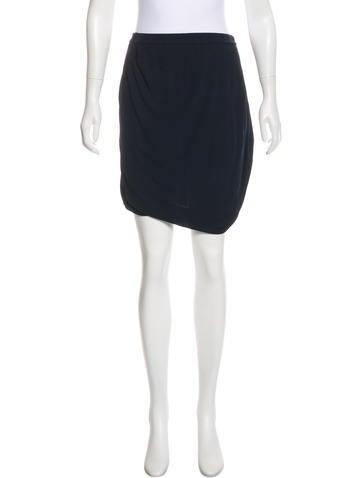 Zero + Maria Cornejo Knit Mini Skirt None