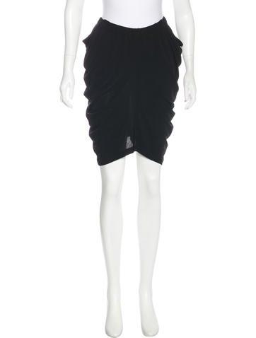 Zero + Maria Cornejo Knee-Length Knit Skirt None