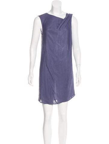 Zero + Maria Cornejo Sleeveless Knee-Length Dress None