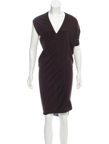Zero + Maria Cornejo Knit Ruched Dress None