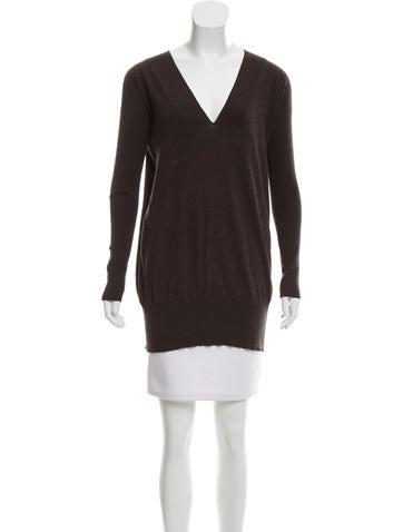 Zero + Maria Cornejo Long Sleeve Knit Sweater None