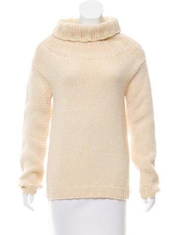 Zero + Maria Cornejo Knit Turtleneck Sweater None