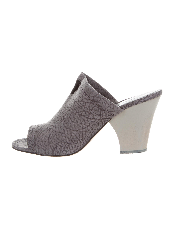 low price online Zero + Maria Cornejo Suede SLide Sandals w/ Tags best prices cheap online 2014 online RfdYVU2f