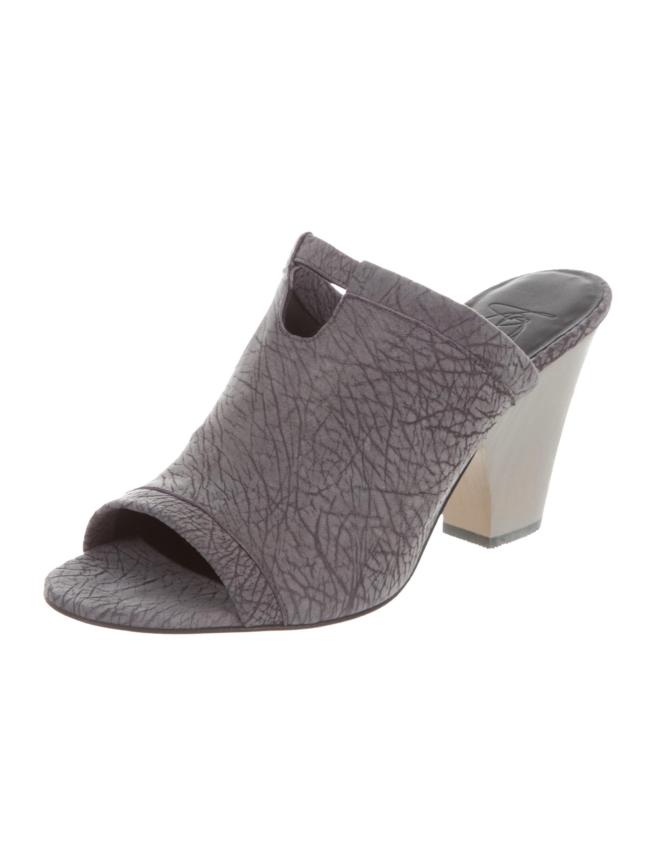 Zero + Maria Cornejo Suede Slide Sandals w/ Tags extremely WZ0mRwLGUA