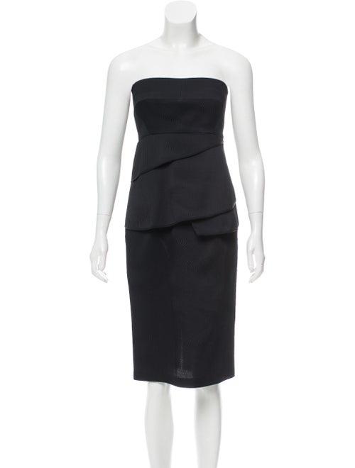 Zero + Maria Cornejo Lykke Virgin Wool Dress w/ Ta