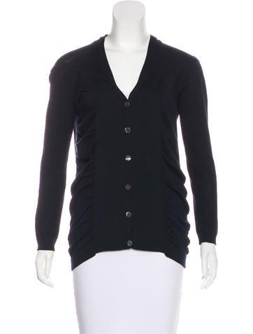 Zero + Maria Cornejo Long Sleeve Button-Up Top None