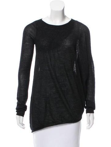Zero + Maria Cornejo Alpaca Knit Sweater None