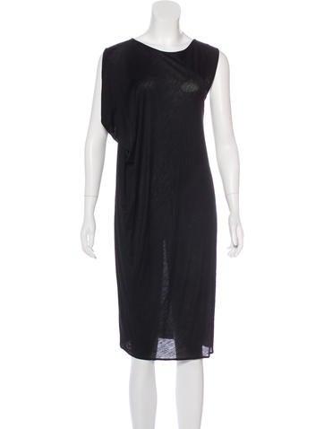 Zero + Maria Cornejo Knit Midi Dress None
