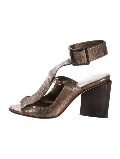 2d51b02efc80 Zero + Maria Cornejo Zero + Maria Cornejo Metallic Embossed Leather ...