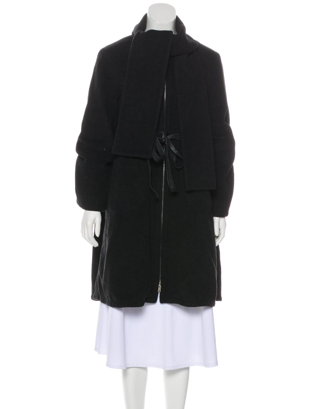 Zero + Maria Cornejo Wool Belted Coat wool - image 1