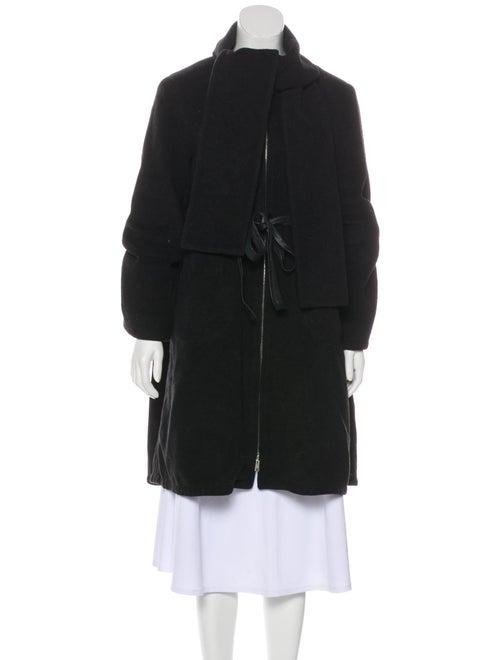 Zero + Maria Cornejo Wool Belted Coat wool