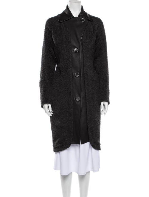 Zero + Maria Cornejo Coat Grey