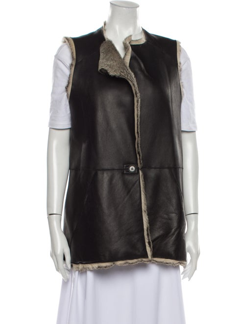 Zero + Maria Cornejo Vest Black