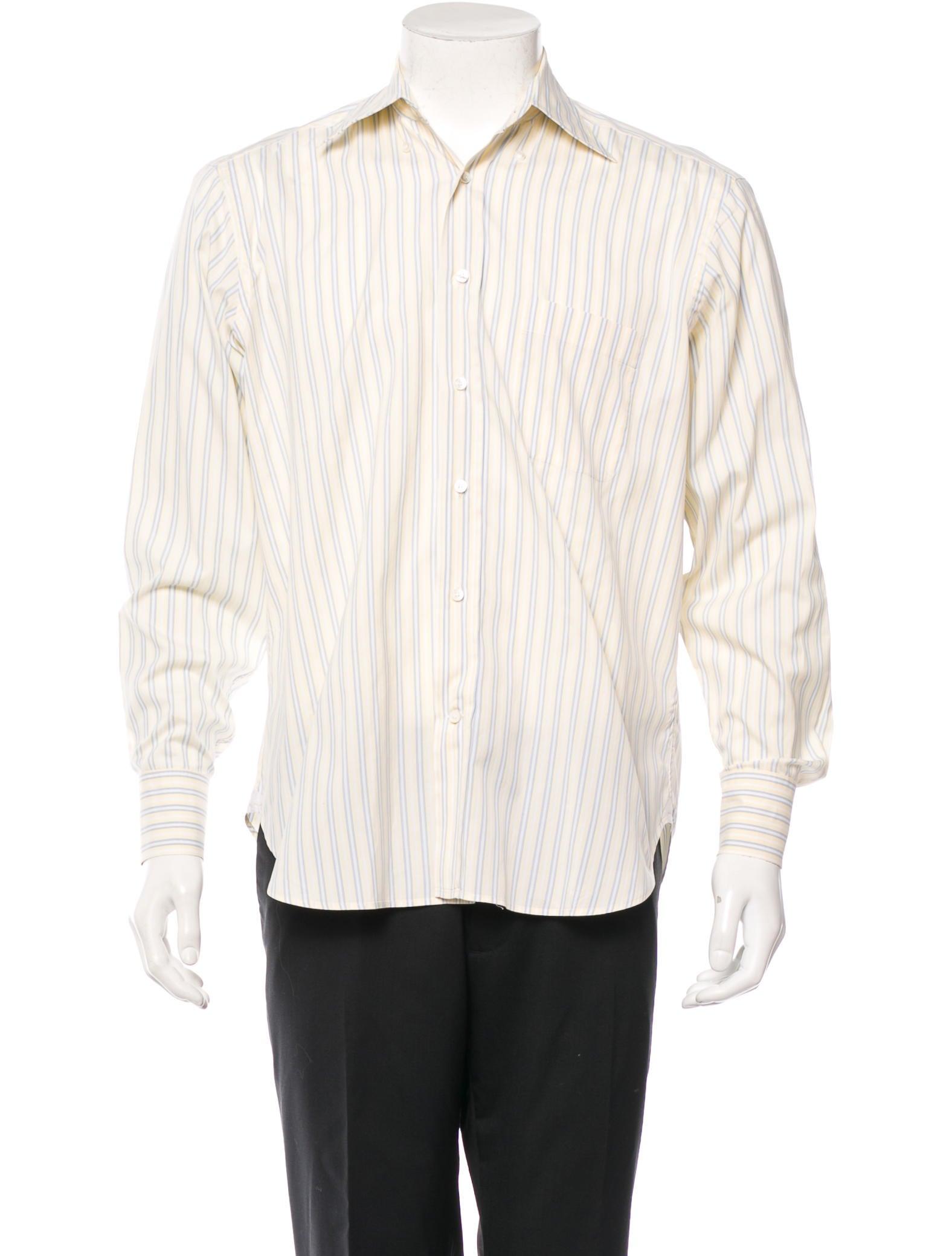 ermenegildo zegna button up shirt clothing zgn21606 the realreal. Black Bedroom Furniture Sets. Home Design Ideas