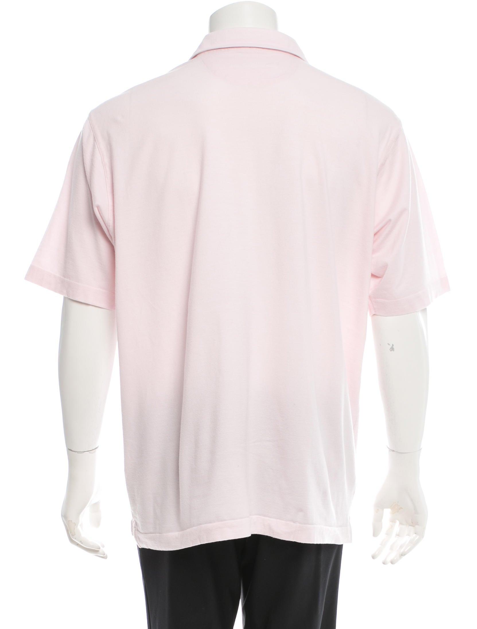 Ermenegildo zegna short sleeve knit polo shirt clothing for Zegna polo shirts sale