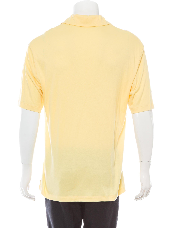 Ermenegildo Zegna Knit Polo Shirt Clothing Zgn22754