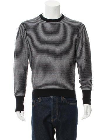 Ermenegildo Zegna Striped Crew Neck Sweater None