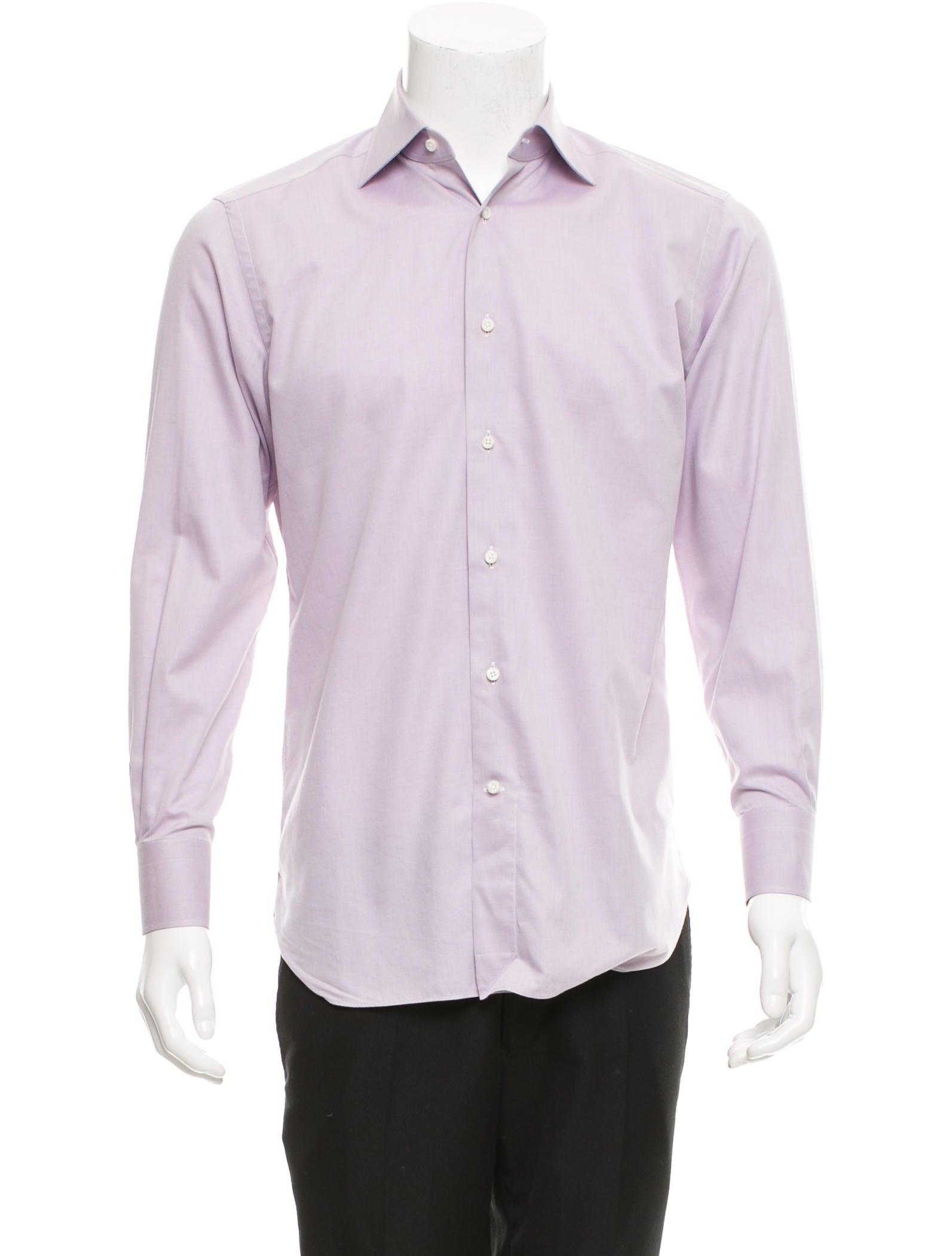 ermenegildo zegna su misura button up shirt clothing zgn23964 the realreal. Black Bedroom Furniture Sets. Home Design Ideas
