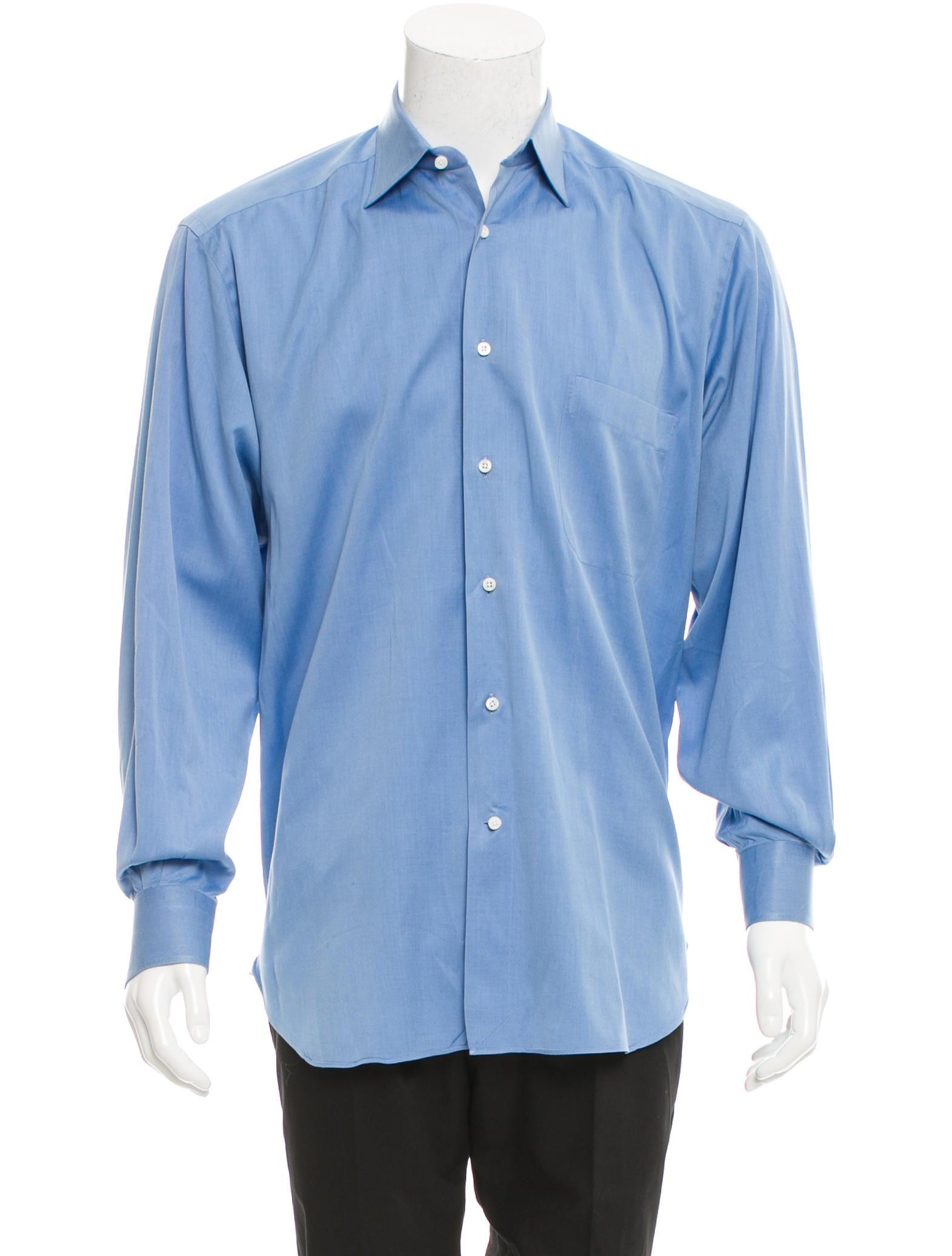 ermenegildo zegna woven button up shirt clothing zgn24252 the realreal. Black Bedroom Furniture Sets. Home Design Ideas