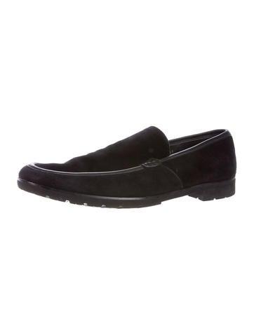 ermenegildo zegna suede dress loafers shoes zgn24374