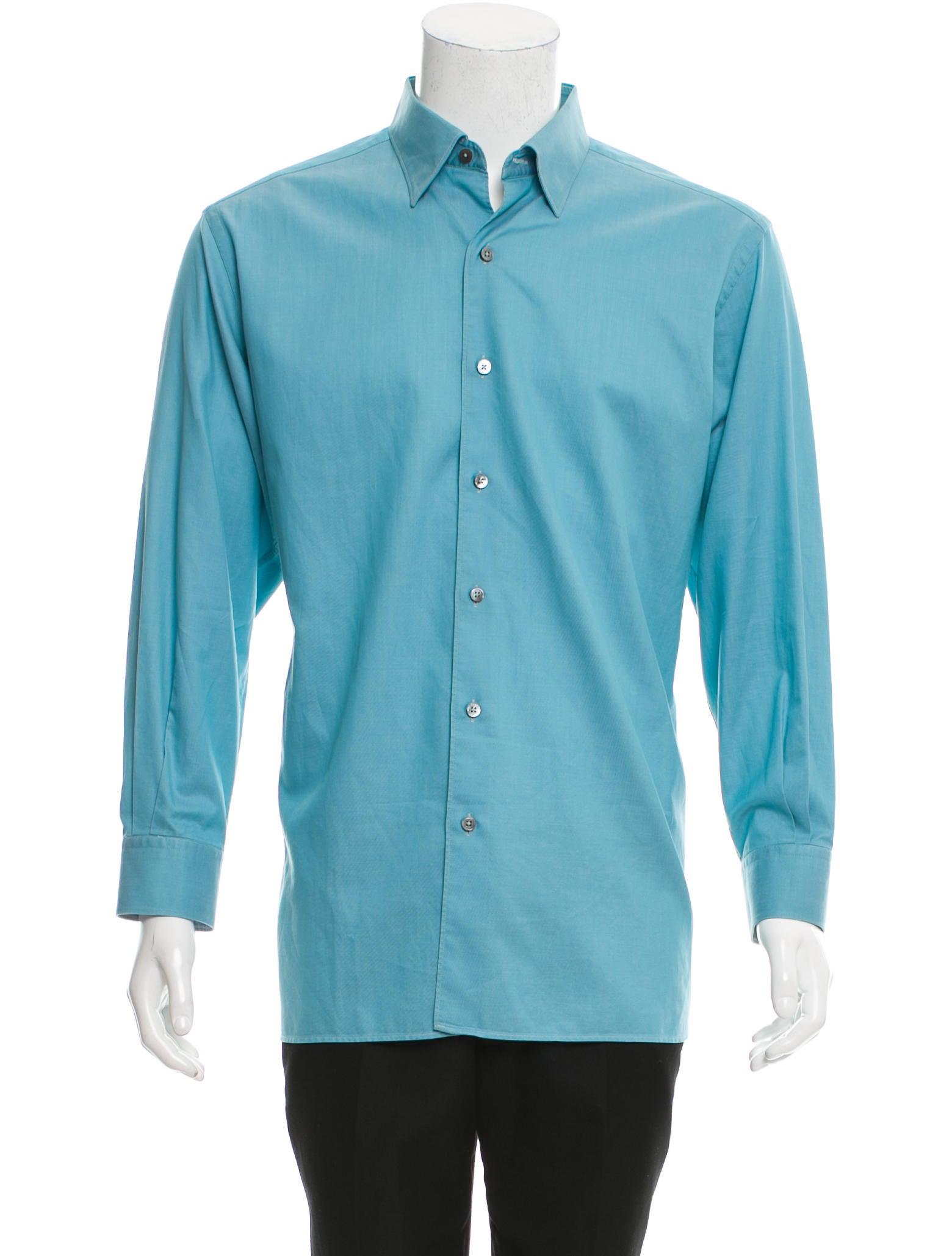 ermenegildo zegna woven button up shirt clothing zgn24407 the realreal. Black Bedroom Furniture Sets. Home Design Ideas