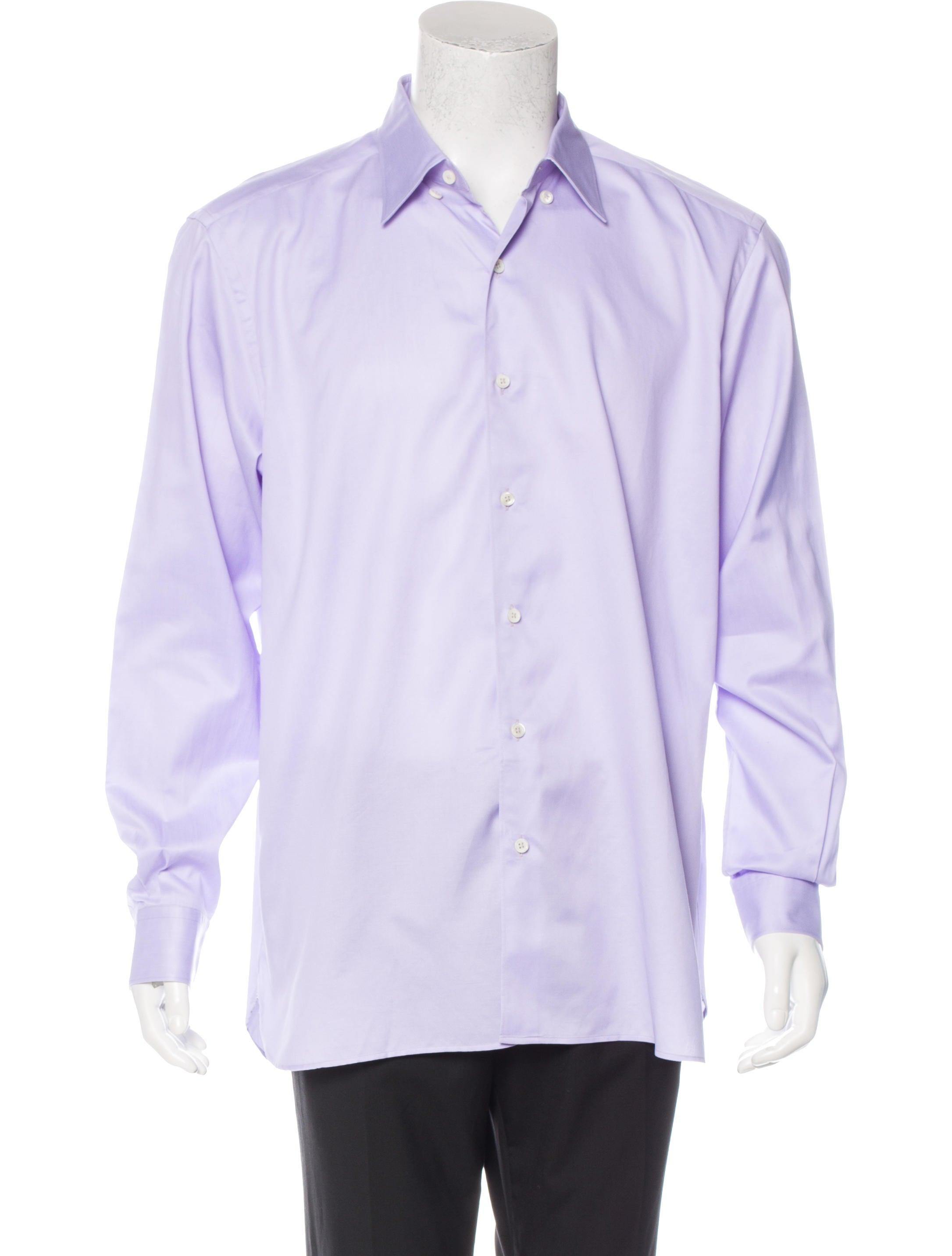 ermenegildo zegna woven button up shirt clothing zgn24619 the realreal. Black Bedroom Furniture Sets. Home Design Ideas