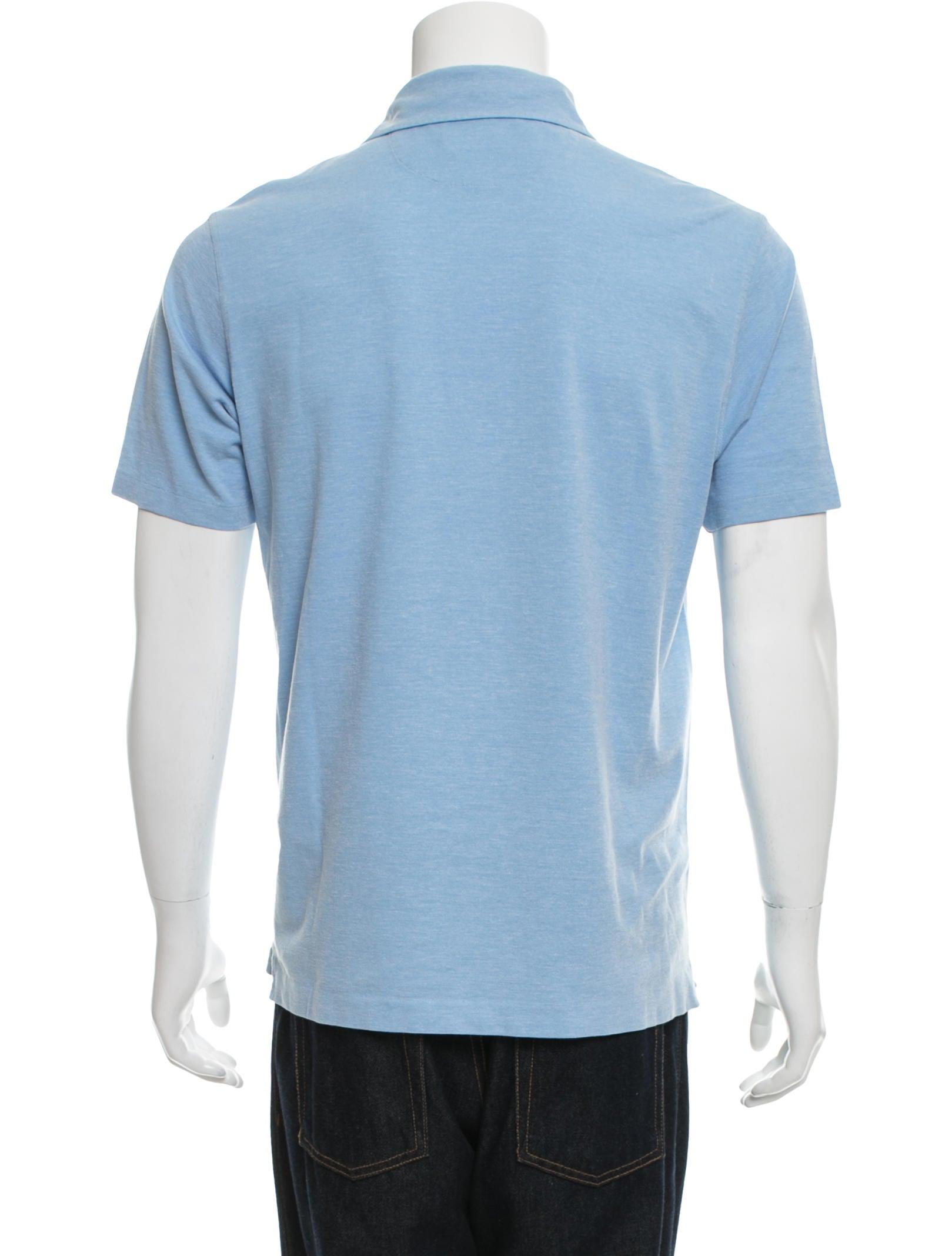 Ermenegildo zegna short sleeve polo shirt clothing for Zegna polo shirts sale