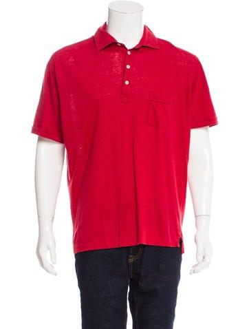 Ermenegildo zegna linen polo shirt clothing zgn24736 for Zegna polo shirts sale