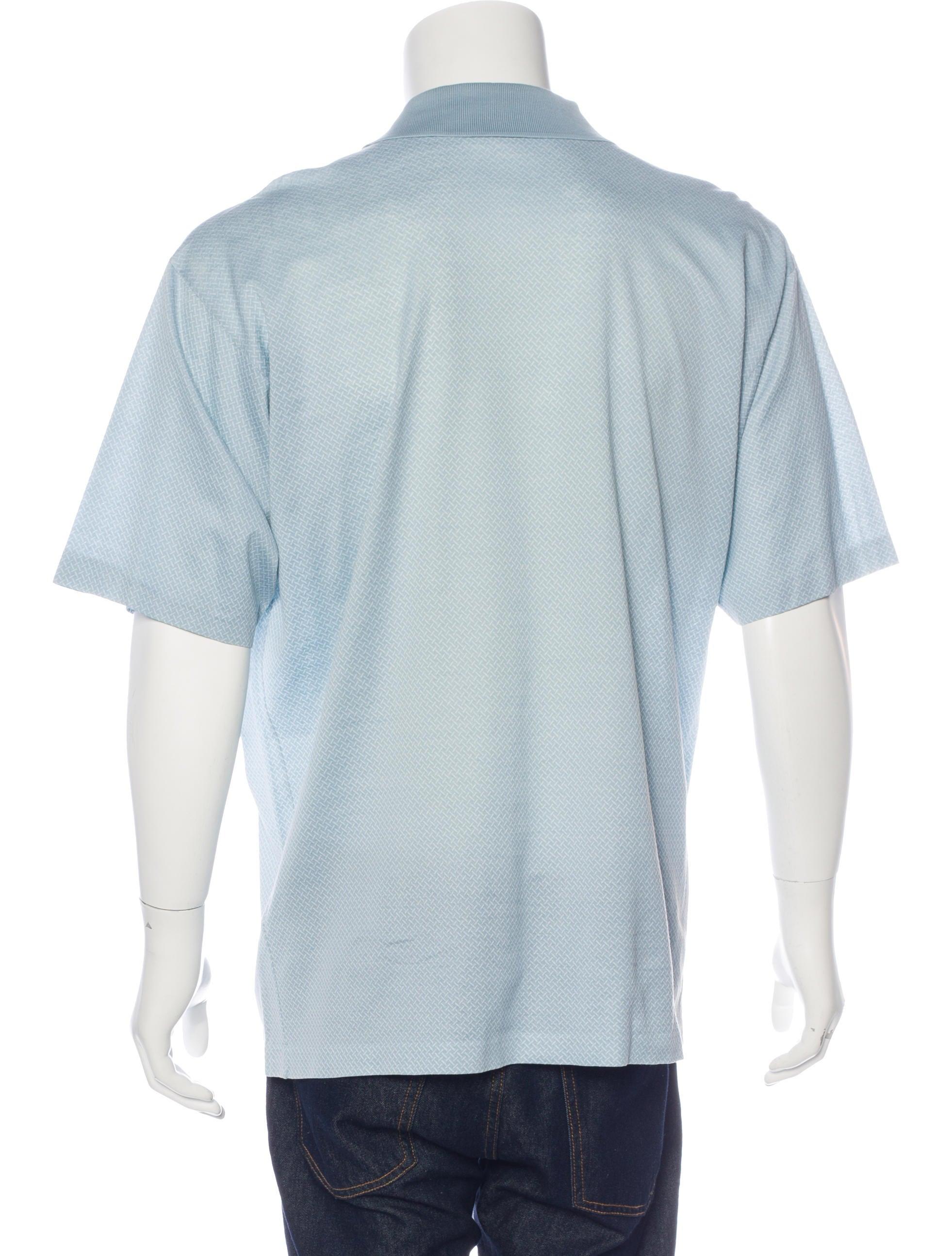 Ermenegildo zegna printed polo shirt clothing zgn24970 for Zegna polo shirts sale