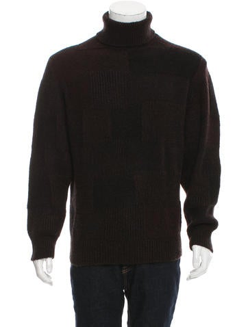 Ermenegildo Zegna Rib Knit-Trimmed Turtleneck Sweater None