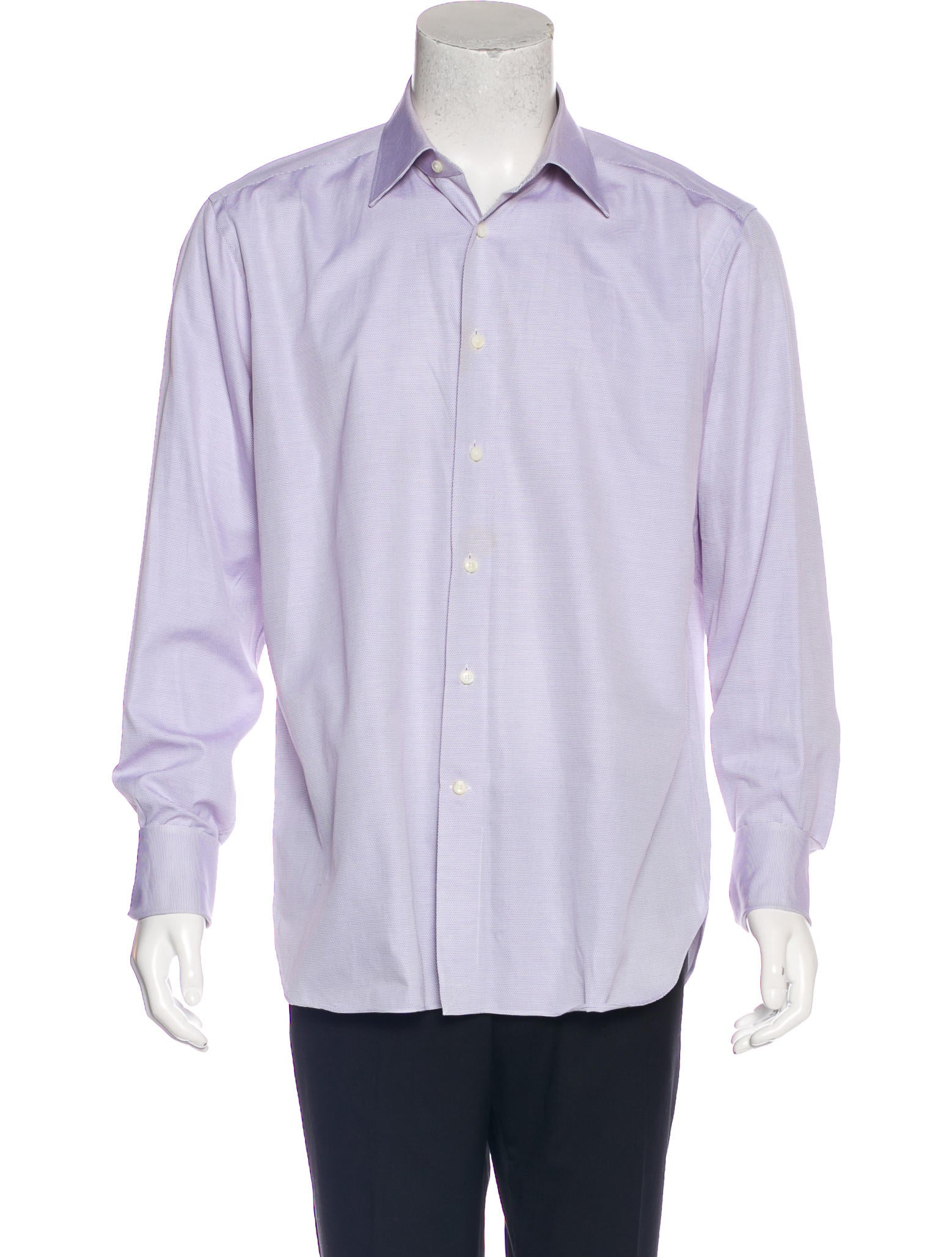 Ermenegildo zegna french cuff regular fit shirt clothing for French cuff dress shirts for sale