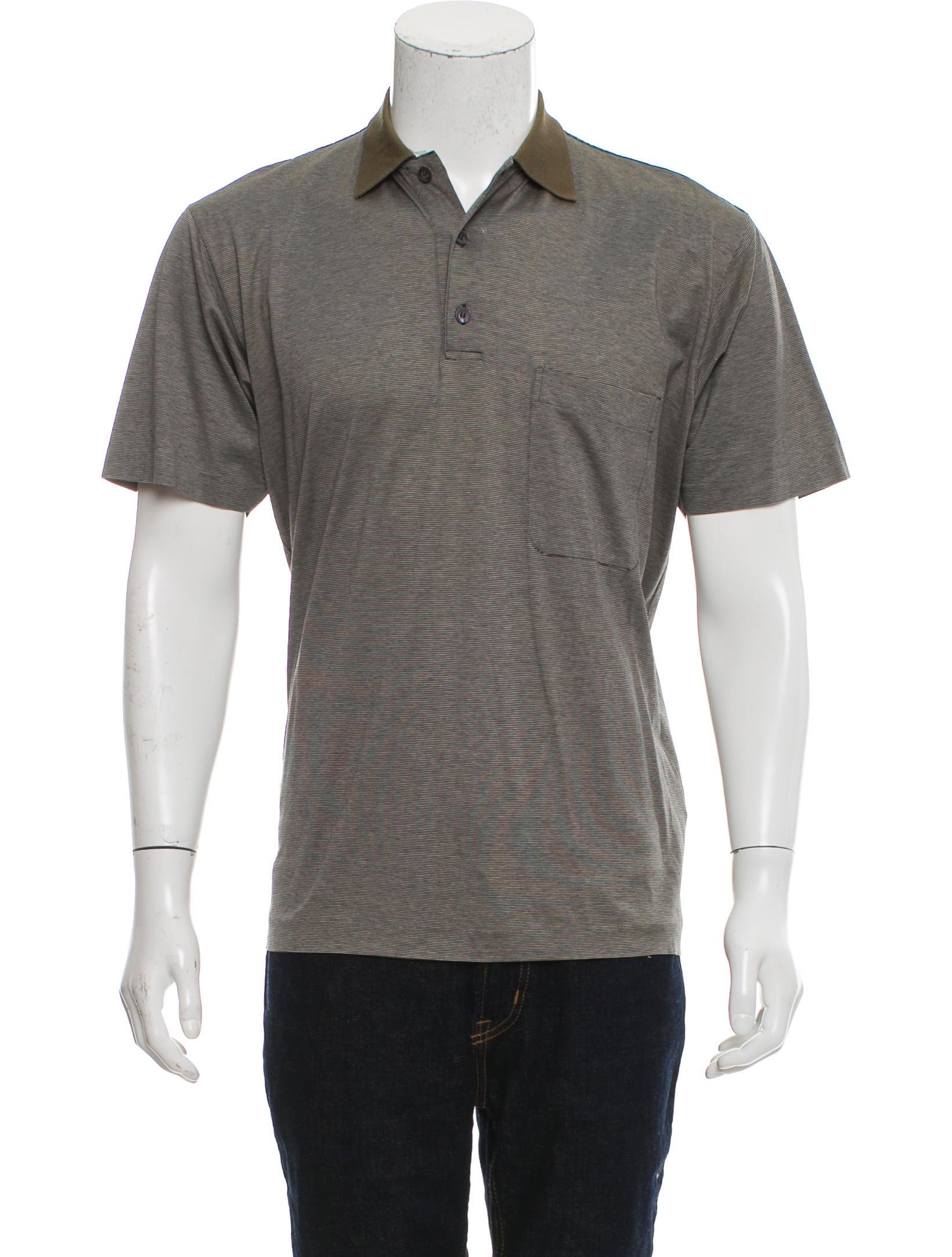 Ermenegildo zegna striped polo shirt clothing zgn25574 for Zegna polo shirts sale